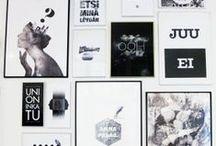 Smoyn taideseinät / Meillä Mainostoimisto Smoyssa on paljon valkoista seinätilaa ja inspiraationa sekä sen tuloksina myös taidetta - meiltä ja muilta.