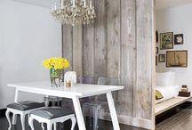 """Apezinhos / Quem disse que não dá para ter um lindo apartamento em um mínimo de espaço?!? Sim, eles existem e são lindos!! Aqui algumas ideias para estes espaços """"pichulos""""!!"""