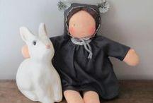 Couture Dolls & doudous / by Petite Pousse