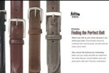 Belts / Our unique collection of belts for big and tall men