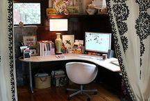 Office in Home / Um lugar para chamar de seu!! Digo seu lugar para trabalhar, sonhar e fazer projetos, dentro de sua casa.