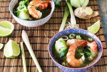 """Recettes : Asie, Japon et Inde / recettes d'Asie, d'Inde, du Japon  ... recettes le plus authentiques possible : non, non, on ne cuisine pas un riz cantonais avec de l'huile d'olive :) mais on peut faire du """"comme """" en Asie avec peu d'ingrédients de base.... / by MartineL"""