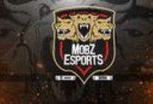 Logo de MoBz eSports / Pasos y detalles del logo.
