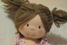 Waldorf dolls - handmade fabric dolls - panenky / handmade