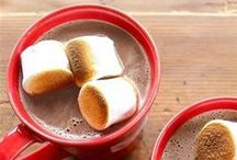 COZY DRINKS / Winter means it's time to curl up with a warm cup of hot chocolate or egg nog (booze optional!).