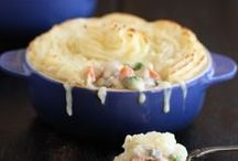 THANKSGIVING LEFTOVERS / Creative ways to use up leftover turkey, mashed potatoes and even pie.