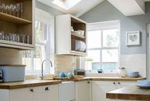 ❥ DECOR: kitchen / Find here inspiration about all the things related to the kitchen: counters, decoration, colors, furniture, storage and organization, etc.