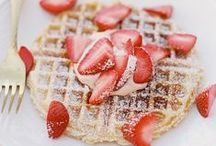 MOTHER'S DAY BRUNCH / Celebrate mom with delicious brunch recipes for waffles, quiches, sangria and more.