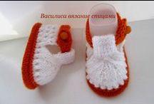 Baby Booties - Botičky háčkované a pletené