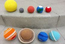 Crochet Space Solar System