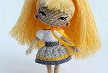 Amigurumi Crochet - Doll - Panenky