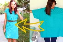 DIY Dressing / How to make things myself. Refashioning with tips, and guides for creating clothing. Sewing, altering, or re-fabbing clothes tutorials, and also ideas for how to re-wear pieces I already have in unexpected ways / by Pretty Trendy Modest Fashion & Style
