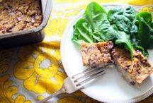 e n t r e e s / inspiration and recipes for healthy meals.