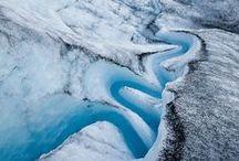 snow * glaciers