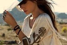 Boho Chic / Lovely bohemian look - Boho fashion