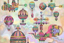 Hot Air Balloon / by りん さち