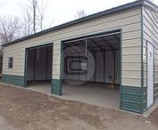 Metal Garages / Steel Garages are the best choice you can have to shelter your cars and safeguard them from elements. These buildings are manufactured, shipped and installed by industry experts.