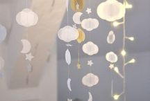 Garlands / Beautiful garlands for the little boy or girl's room