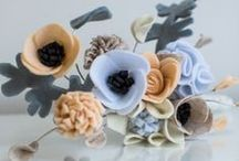 ALTERNATIVE / Alternative wedding designs, including brooch, button, fabric, silk, artificial, felt bouquets and buttonholes. Products created by Wild Floral Designs, photographed by Georgina at Panache photography all rights reserved 2015.