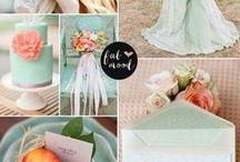 PALETTE / Colour palette's for wedding inspiration.