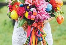 BOLD / Inspiration for a bold & bright wedding...