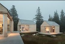 wooden houses * cabins