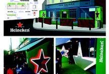 Heineken / Heineken Festival Bar Design