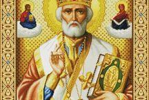Иконы схемы крестиком