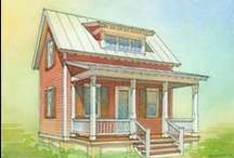 Tiny Home Architecture / I prefer a 200 to 800 square foot jewel box over a McMansion any day!  / by Helen Wilcox