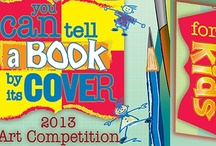 """""""You can tell a book by its cover"""" Kids Art Competition / Rancho Mirage Public Library Kids Art Competition 2013 -  Children between the ages of 5 and 12 were invited to submit a piece of artwork illustrating a book cover based on a book or story they have read, written or would like to write. Winning entries received an art supplies that will enhance their artistic talent. Artwork will be displayed April 15 - May 15 in the Children's Room"""