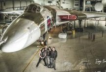 Vulcan Rocks / Hotly tipped British rock band Knock Out Kaine are donating all proceeds from their specially re-released single 'Set the Night on Fire' from their high scoring debut album 'House of Sins' to raise money for the last flying #Avro #Vulcan - #XH558. The accompanying video is being made in the historic aircraft's hanger at Doncaster's Robin Hood Airport on Saturday 13 April 2013, where up to 80 fans will have the chance to be a part of British rock and aviation history.