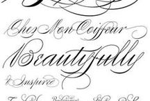 We Love Fonts! / Fonts Fonts Fonts...so many to choose from