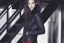 F&F AW13 / This season, go edgy with leather-look details and grunge influences. Team with cobalt blue or tartan for a style that will get you recognized instantly. / by F&F