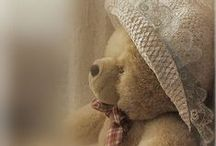 Teddy Bears tug at my heart / by Sherry Lipscomb