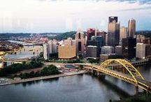 We Love Pittsburgh! / We are located in north Pittsburgh