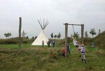 De Wildste tuin van Nederland / Zand/water/modder/spelen/rennen/survival/plezier