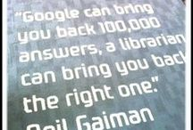 Library Quotes / Quotes about libraries and librarians / by NTC Library