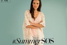 #SummerSOS / On the 8th of July 2014, we invited fashion expert Angela Buttolph to spend the day raiding the rails at F&F towers to solve all your #SummerSOS styling dilemmas, live, on twitter. Which is your favourite outfit from the day? / by F&F