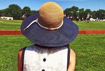 Hats for Polo / Attending a Polo Match this coming fall? What better way to showcase your most beautiful hats! Unlike Derby, Polo is much sportier but with a touch of class! Look though this board for some inspiring Polo Outfits.