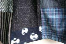 handmade clothes / 着物から作った服や帽子、リネンの服など・・