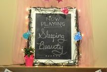 Sleeping Beauty Party / sleeping beauty themed party
