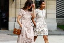 Lace: Fashion loves lace / How to style lace in your outfit! #fashion #outfit #streestyle