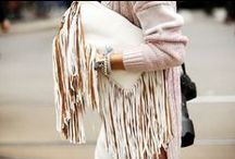 Fringes: How to wear them / How to style fringes in your outfit! #fashion #outfit #streestyle