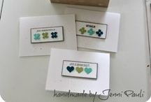 Card Ideas / Stamping and card making are great fun. Here are a few ideas to spark your creativity.