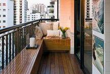 Interior Design | Balcony and Porch Ideas