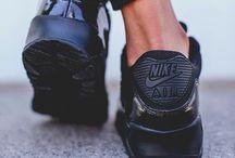 We love Nikes / girls wear sneakers nikes on my feet