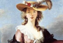 Elisabeth Vigee Le Brun / Paintings by Elisabeth Vigee Le Brun, or images from her world. Madame Le Brun is a character in my historical romance THE SECRET OF LOVE, set in 1804 & 1808, and due out in early 2016.