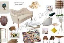 Planche de style Salon Nature / Une planche de style riche en couleurs pour lutter contre la grisaille de l'hiver.