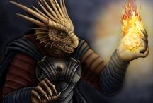 Fantasy : Creature : Draconian : Male