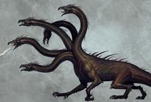 Fantasy : Creature : Hydra